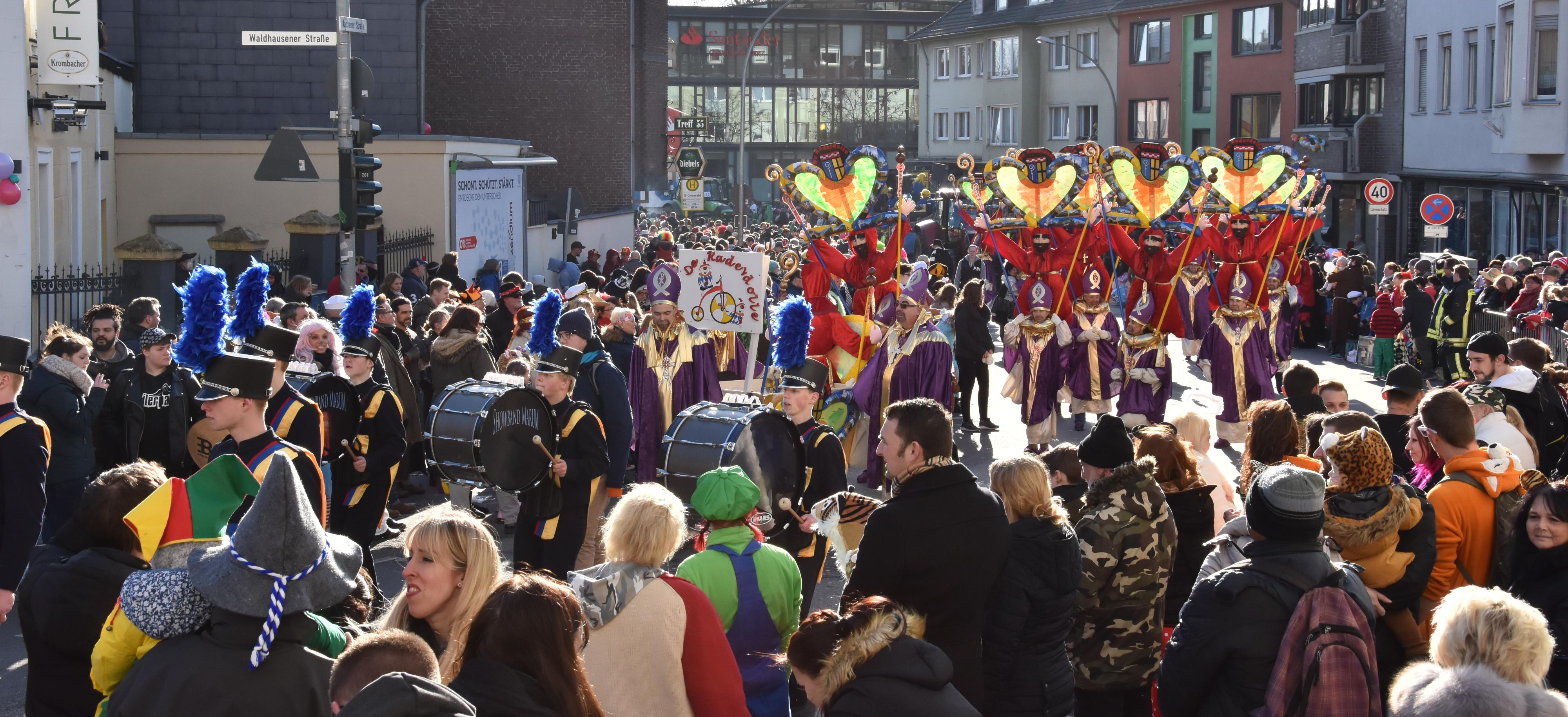 Carnaval in Mönchengladbach!