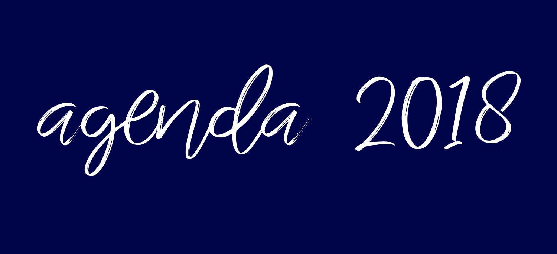 Optredensagenda 2018
